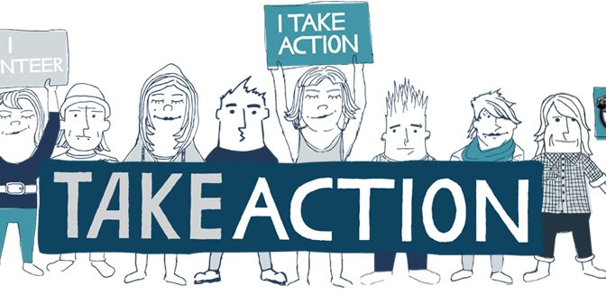Take Action   Talking is not Enough