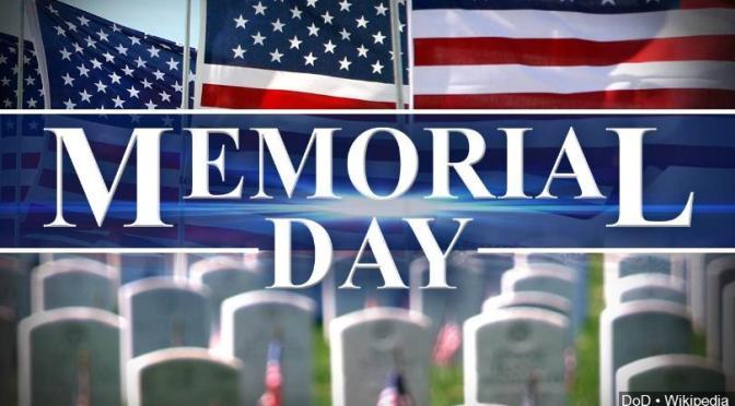 Memorial Day – SPC Shane Ahmed